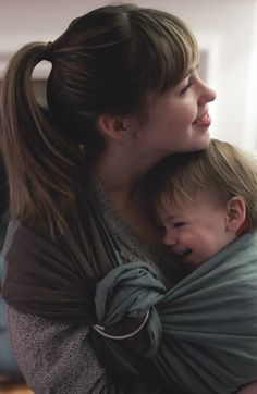 the sling diaries: erica and ferris babywearing expression! #sakurabloom
