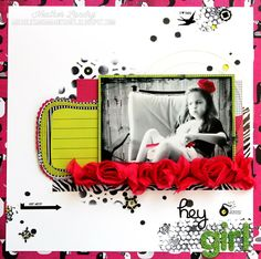 Stamping_Punk_Girl_Scrapbook Page