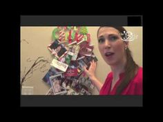 ▶ Easy Display for Your Holiday Cards! - Crafty Mom's Weekly Challenge - Episode 25 - YouTube