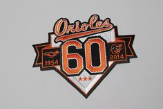 Orioles unveil 60th anniversary patch for 2014 season