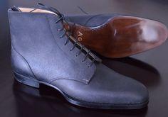 Model 403S, derby boot, black grev reverso