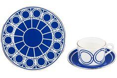 TREND: TREILLAGE Palladian dinnerware by Custhom. custhom.co.uk
