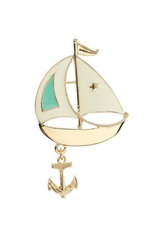 brooches, sailboats, brooch 18, sail boats, pretti brooch, httpturksailcomtr sail, thing, nautic, boat brooch