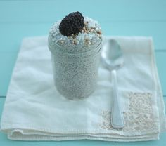 High Fiber #Breakfast Idea: #Chia Pudding