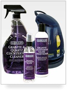 How to clean granite countertops on pinterest granite for Best way to clean slabs