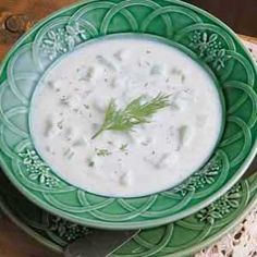 Cucumber Potato Soup Recipe