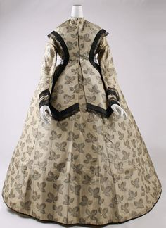 1860s dress.