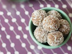 No-Bake Carrot Cake Balls from Joy McCarthy
