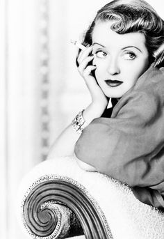 """Bette Davis for """"Marked Woman"""" [1937]"""