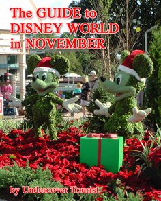 ...the beautiful gardens, topiaries and seasonal decorations.