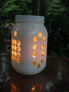 mason jar luminary by skrouse1, via Flickr