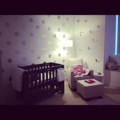 beautiful simple nursery