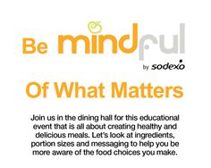 Mindful Matters is coming up! Look for us on Feb. 26th @11 am in the dining hall at ENMU!