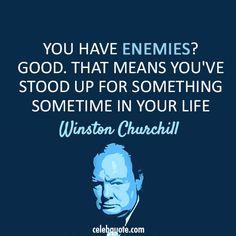 Winston Churchill | @RamiKantari