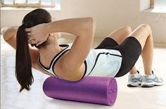 foam roller - the ticket to preventing muscle soreness--and potentially sidelining injuries