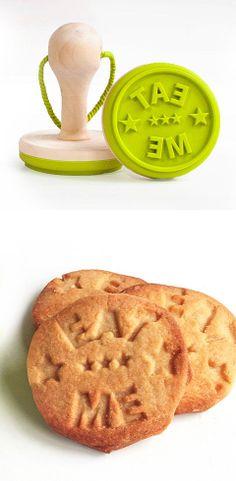 Eat Me - Cookie stamp
