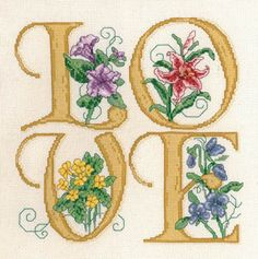 Love - Cross Stitch Pattern