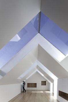 roof, interior design, font da, window, design interiors, modern architecture, sky lights, hous, da luz