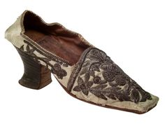 Shoe, 19th century, Algerian (Algiers or Oran).