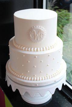perfect wedding cake!