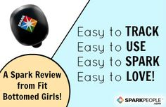Looking for a new way to SPARK your motivation to stick to a fitness routine? Look no further than the fun, easy-to-use Spark Activity Tracker. Here's a stellar review from @Fit Bottomed Girls! | #exercise #workout