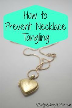 How to Prevent Necklace Tangling
