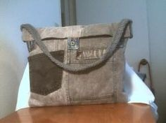 Use old jeans to make everything from wallets to gym bags and back packs . I've made a fanny pack, kid's purses, large and small tote bags and... kid purs, gym bags, tote bags, wallet, old jeans