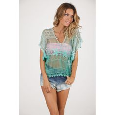 Ombre Crochet Top by Ombre