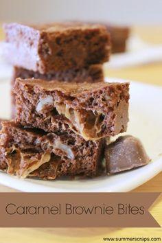 caramel brownie bites recipe shop Caramel Brownie Bites Recipe