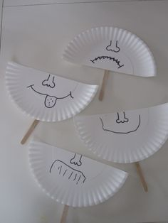 Paper plate emotions.#Repin By:Pinterest++ for iPad#