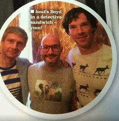 Are those Moose?? This is a day Benedict dressed himself. Lol