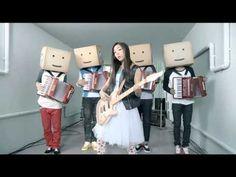 Figure-skating Queen, Yuna Kim's shuffling TV commercial for Hite, Korean beer brand.