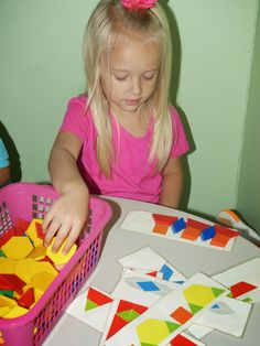 Paula's Preschool and Kindergarten: More mathematical thinking with math games and manipulatives