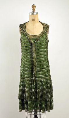 Evening Ensemble 1926, American, Made of silk.