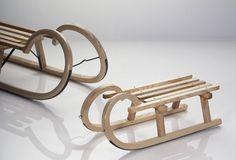 wooden sled, holiday season, mini bent, bent sled, favorit season