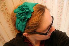 T-shirt Flower Headband