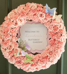 Pretty Butterfly Garden Themed Party