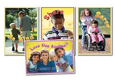Love One Another! Bulletin Board Posters