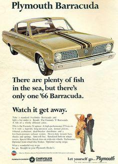 1966 Plymouth Barracuda S