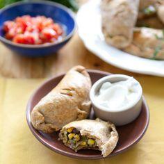 freezer meals, black beans, food, freezer recipes, dinner recipes, three sister, sister empanada, weeknight dinners, vegetarian recipes