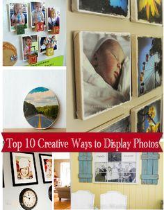 #Ad: 10 creative ways to display photos #EverydayMobilePrinting