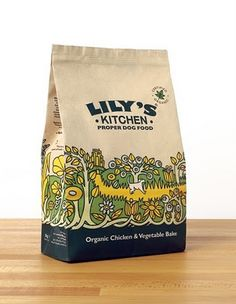 More gorgeous #packaging for a range of organic pet food  #Design