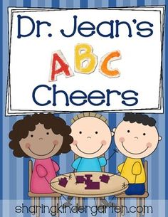 Dr. Jean's ABC Cheers {Alphabet, cards, and chart} freebie to download