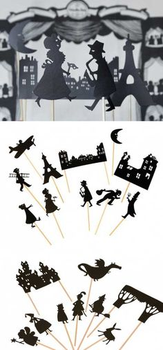 moulin roti, puppets, idea, shadow puppet, fairy tales, castles, shadowpuppet, shadows, kid