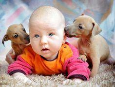 puppy kisses x 2
