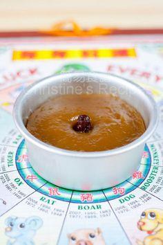Chinese New Year's Cake (Sticky Rice Cake 年糕) - Christine's Recipes: Easy Chinese Recipes
