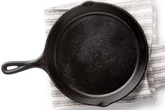 The Secret to a Well-Seasoned Cast-Iron Skillet