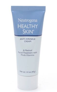 Neutrogena Healthy Skin Anti-Wrinkle Cream is a great way to keep skin looking young.