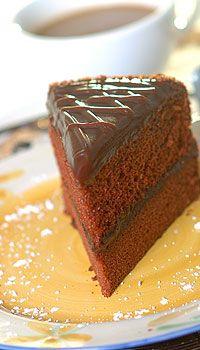 Chocolate Dobash Cake | The Polynesian Kitchen