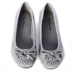 cute grey shoes
